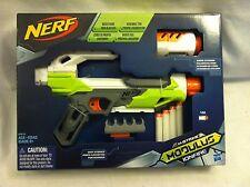 NERF N-Strike Modulus IonFire Blaster Gun w/ Barrel Extension & Dart Storage New