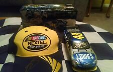 2007 Jimmie Johnson Gold Autographed  #48 Richmond Win 1/24 & Signed VL Crew Hat