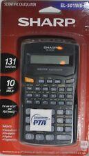 Sharp Scientific Calculator EL-501WB - BK