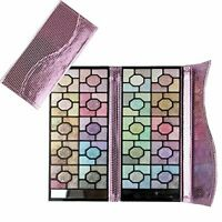 100 Colors Rose Glitter Eyeshadow Palette with Eye Shadow Brushes Make up Set