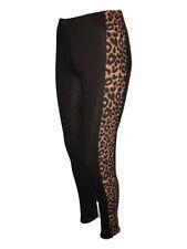 WOMENS MULTI PRINT FULL LENGTH LADIES STRETCH LEGGINGS PANTS PLUS SIZE 8 - 26