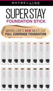 Maybelline superstay multiuse foundation stick U CHOOSE SHADE buy more and SAVE!