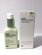 Dr. Andrew Weil for Origins® Mega-Bright Skin Tone Correcting Serum 1oz *BOXED*