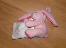 DOUDOU ET COMPAGNIE petit chien ou lapin rose NEUF avec lien d'attache