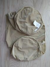 """New Hollander 36"""" Cylinder Body Pillow Cover only. Beige"""