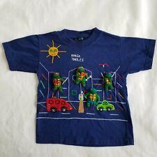 Fairy Tales On Parade Judy Handmade Shirt Blue Boys Teenage Mutant Ninja Turtles