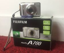 Fujifilm FinePix A Series A700 Digital Camera - Silver & Original Memory Card