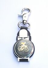 Cyclist Enamel Clip on Fob Pocket Watch Ideal Cycling Gift