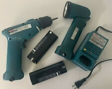 MAKITA 6172D and DC9700A CORDLESS DRILL and Charger Dock and Flashlight ML702