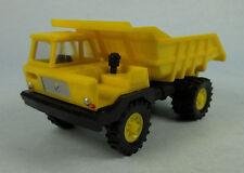 VEB BERLINPLAST Perlini Dumper Truck (Yellow) 1/87 HO Scale Plastic Model NEW!