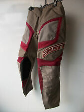 "Nuevos niños jóvenes Rojo Scott Motocross Pantalones Sz 24"" 5-7 años Pantalones Honda MX CR Sx"