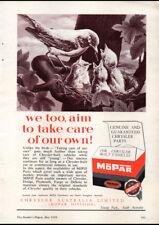 "1958 MOPAR CHRYSLER PARTS AD A4 POSTER GLOSS PRINT LAMINATED 11.7""x8.3"""