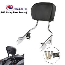 Amovible Dossier Sissy Bar Pour Harley Touring Street Glide Road King 09-18 13