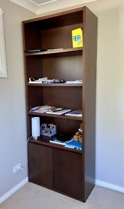 Moving Sale - Large Wooden Bookshelf - Freedom Furniture