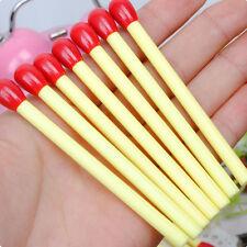 Lot 5Pcs Creative Student Stationery Matches Shape Ballpoint Pen Cute Ball Point