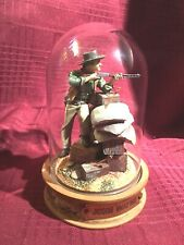 Franklin Mint, Glass Domed John Wayne Movie Collectible, Cpo5583 Gun & Arrows
