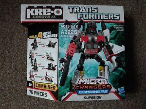 Transformers Kreo Superion