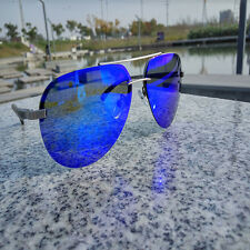 Aviator Sun Glasses Polarized Mirrored Sunglasses Men's Cool Driving Glasses New