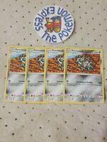 Pokémon TCG 4x Ferroseed #102/181 Common Team Up Set Mint English Metal Type