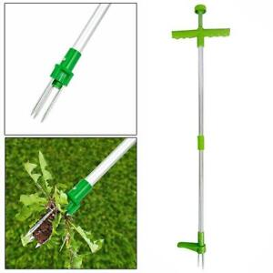 Weed Puller Weeder Twister Twist Pull Garden Lawn Root Remover Tool free ship