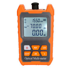 Portable Ftth Fiber Optical Power Meter 70 To 6dbm Optic Cable Tester Us M4c6