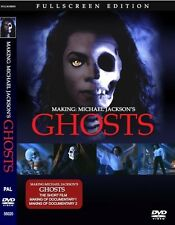 Michael Jackson Ghosts Film + making of rare DVD