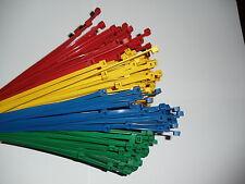 400 Stck  Kabelbinder  BUNT  100 x 2,5 mm Europäische Ware/ Industriequalität