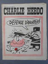 ►CHARLIE HEBDO N°100 -  OCTOBRE 1972 - REISER