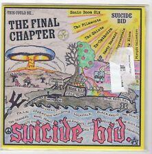 (II846) Suicide Bid, The Final Chapter - Ltd Ed of 200 - Yellow 7 inch vinyl