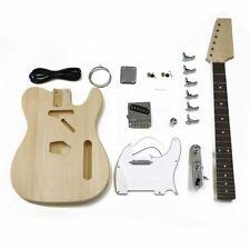 HOSCO DIY Telecaster Tele Electric Guitar Kit, Maple Neck ER-KIT-TC