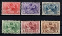 G128607 / SPAIN Y&T 236 / 241 COMPLETE SET MH*