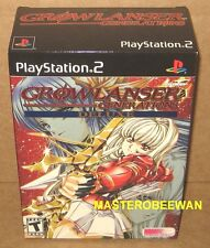 PS2 Growlanser Generations Deluxe Box Set Edition New Sealed PlayStation 2