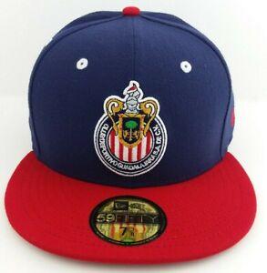 New Era Club Guadalajara Chivas 59FIFTY Fitted Hat/Cap Gorra Cerrada Futbol NWT