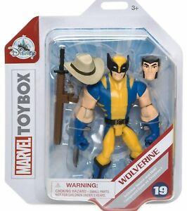Authentic Disney Marvel Wolverine Action Figure - Marvel Toybox 13cm H New