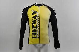 Verge Men's Large Bikeway Elite Race Long Sleeve Fleece Cycling Jersey