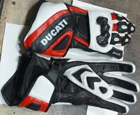 Ducati MotoGp Leather Motorbike Leather Gloves Motorcycle Gloves
