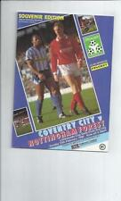 League Cup Coventry City Teams C-E Final Football Programmes