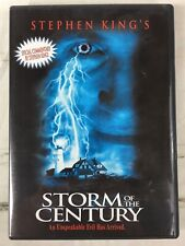 Storm of the Century (DVD, 1999 ) Stephen King - Free Shipping