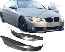 BMW e92 flaps front lippe diffusor beeindruckende präsenz lip spoiler windlasten