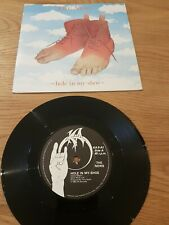 """THE NEWS Hole in My Shoe / Only Echoes  1982 7"""" Vinyl VG+"""