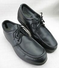 Red Wing Shoes Black Leather Static Discharge Oxfords USA 8611 Men's 11.5 B