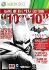 Batman Arkham City Game of the Year Edition Xbox 360 PAL