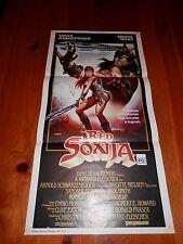 Red Sonja Original Poster Insert Australian Daybill Aust Day Bill One Sheet 1sh