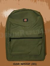 DICKIES I-27087 STUDENT BACKPACK New School Bag Black Grey Navy Red Green Purple