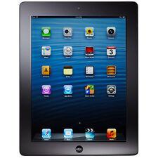 Apple iPad 4th Gen. 16GB, Wi-Fi + Cellular (Unlocked), A1459, 9.7in - Black