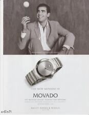 2000 Tennis Pete Sampras Movado Museum Watch print ad