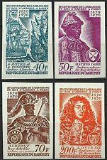 Dahomey Roi d' Ardres Louis XIV Matheo Lopes Essais Color Proofs Essay ** 1970