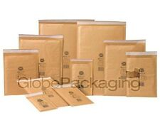 More details for genuine jiffy airkaft gold padded bubble envelopes bags *all sizes/qty's*