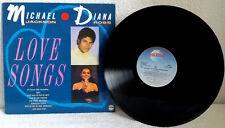 MICHAEL JACKSON & DIANA ROSS-Love Songs - 1987-Vinyl-Jackson 5-SUPREMES-EX/EX