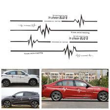 Pair Car SUV Side Skirt Stripe Sticker ECG Sport Performance Vinyl Decal Sticker